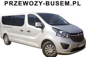 Opel Vivaro Bus 8+1